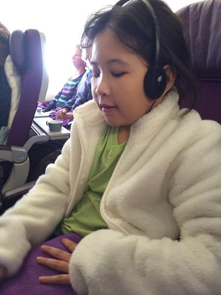 Europe - Plane Ride