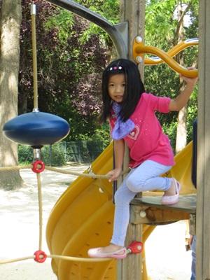 Playground at Eiffel Tower 1