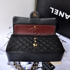 CC-2-55-Series-Classic-Flap-Bag-1112-Original-Caviar-leather-in-Black-with-Gold-Chain-5036_3